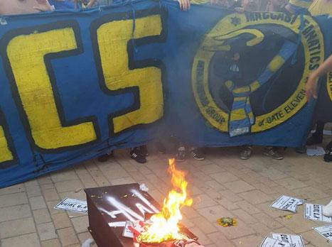 בעקבות האלימות: עיני מאיים בשביתה