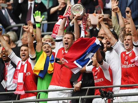 מפעל חיים: ארסנל זכתה בגביע האנגלי
