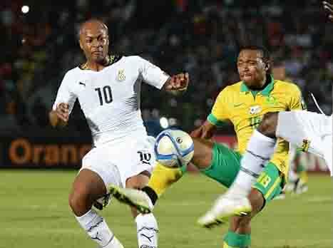 גרנט מסתבך. מחצית: דרום אפריקה-גאנה 0:1