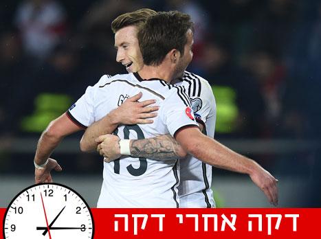 חי ממוקדמות היורו: גאורגיה - גרמניה 2:0