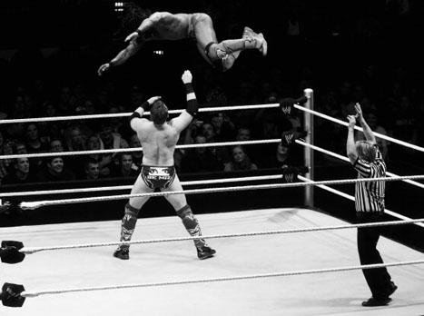 לילה משוגע ב-WWE (getty)