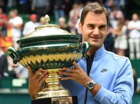 מר דשא: פדרר זכה בטורניר האלה בפעם ה-9
