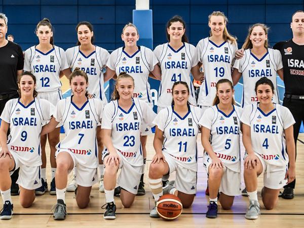61:82 לנבחרת הנערות של ישראל על הולנד