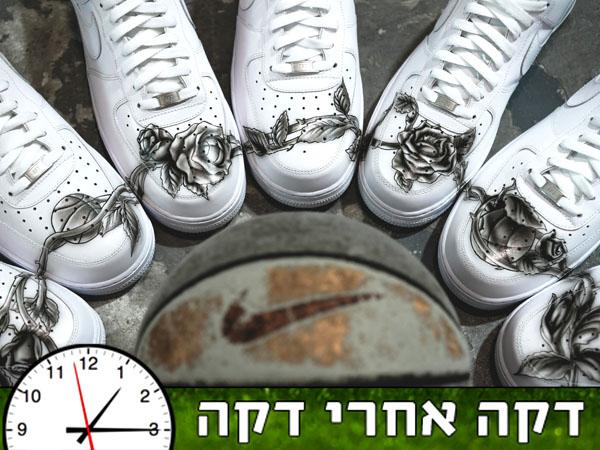 העתק מדויק: קעקועיו של ג'קסון על נעליים