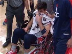 דני אבדיה נפצע ברגלו וסיים את עונת 20/21