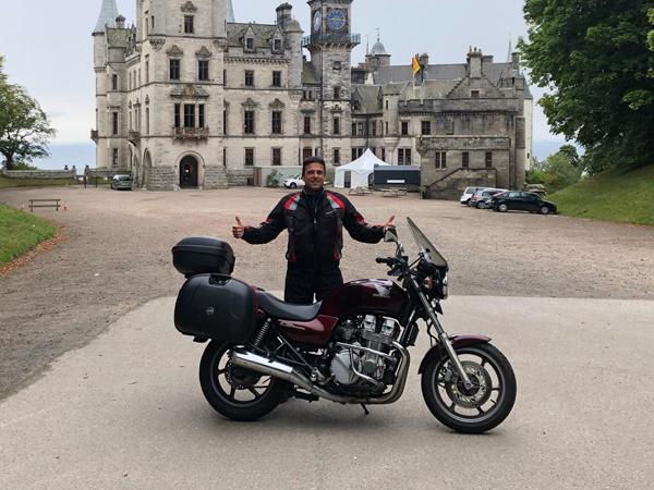 בטירה בדרך לאברדין