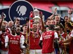 צפו: ארסנל זכתה בגביע אחרי 1:2 על צ'לסי