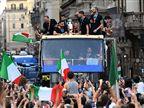 לעיני אלפים: צפו בחגיגות הזכיה של איטליה