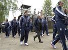 """שחקני איטליה בכו באושוויץ: """"הלם"""""""