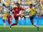 אין מדליה: ברזיל הפסידה לקנדה