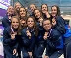 מדליית זהב לנבחרת השחייה האומנותית ביוון