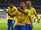 ברזיל הדיחה את מסי וארגנטינה בחצי הגמר