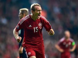 אריקסן קבע 0:1 לדנמרק על ארמניה