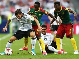 גרמניה בחצי הגמר אחרי 1:3 על קמרון