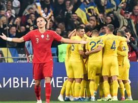 רונאלדו כבש, פורטוגל הפסידה באוקראינה