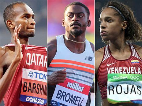 מרוחאס ועד ריצת 100 מ': ראשון באתלטיקה