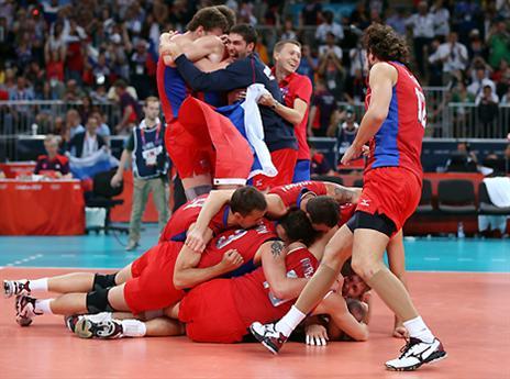 שוב ילכו עד הסוף? שחקני רוסיה זוכים בזהב האולימפי (gettyimages)