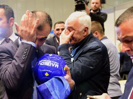 דמעות של אושר (AFP)