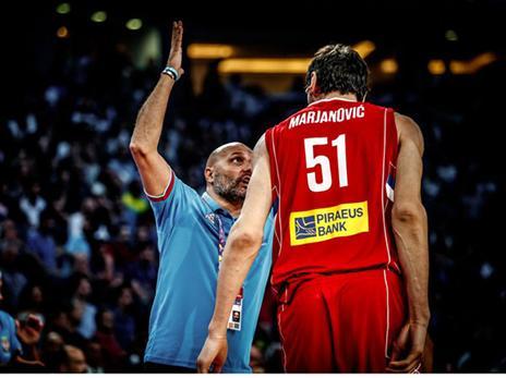 ג'ורג'ביץ' היה חם כרגיל (FIBA)