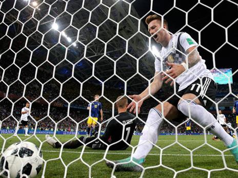 גרמניה עוד לא בטוחה בשמינית הגמר (Getty)