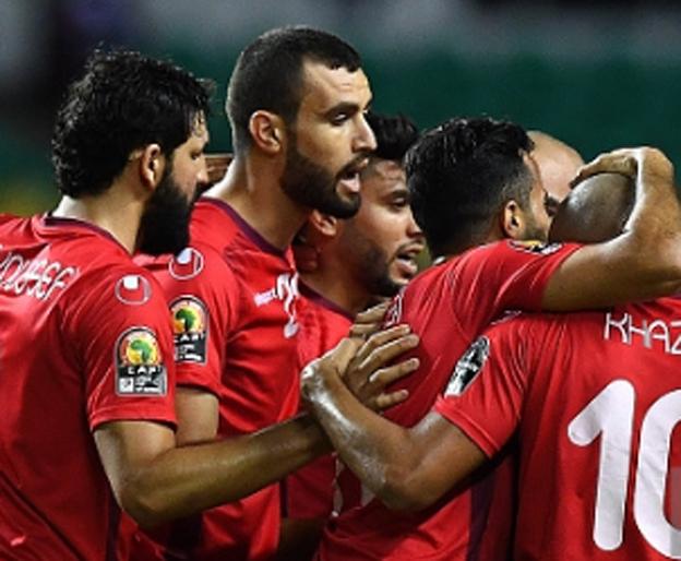 תוניסיה חוגגת מקום ברבע הגמר (Getty)