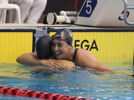 שיא ישראלי חדש. מורז (איגוד השחייה)