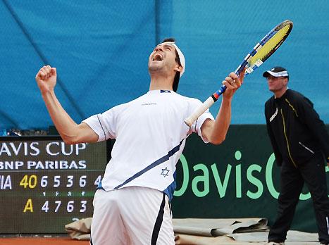 ויינטרוב, רוצה את ספרד (צילום: עפרה פרידמן, איגוד הטניס)
