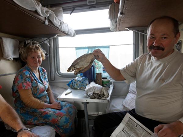 13 שעות של געגוע לימי הטירונות ברכבת לקאזאן