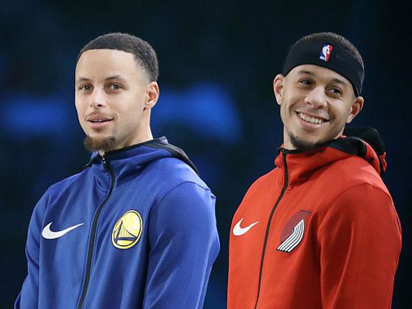 מי ינצח? סטף וסת' קרי (צילום: Streeter Lecka/Getty Images)