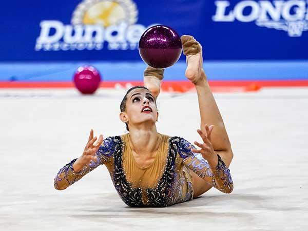 תרגיל הכדור בהחלט עזר לה (getty, Natalia Fedosenko)