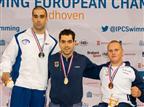 3 מדליות לשחיינים הפראלימפיים באיינדהובן