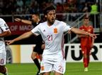 עדיין בפסגה: 1:2 לספרד במקדוניה
