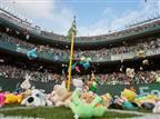לראשונה בליגת העל: הקהל ישליך בובות לדשא