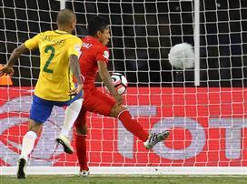שער ביד הדיח את ברזיל מהקופה