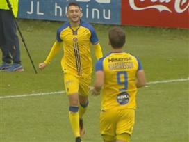 אצילי הצטיין בניצחון הצהובים באיסלנד