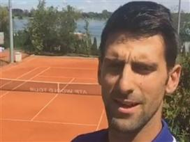 ג'וקוביץ' הודיע: לא אשחק יותר ב-2017