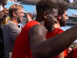 האולטראס: קלופ ושחקני ליברפול עלו ליציע