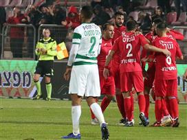 עוד עונה הלכה: חיפה הודחה מהגביע מול סכנין