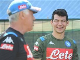 בא לשכונה בחור חדש: לוסאנו הצטרף לנאפולי