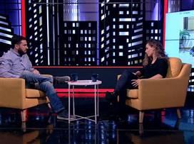 קארין סנדל מדברת עם שי האוזמן