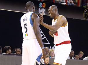 כוכבי ה-NBA עשו היסטוריה באפריקה