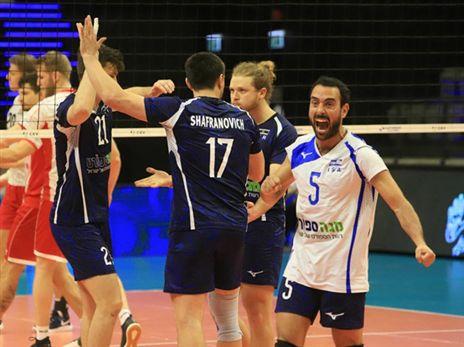 בתצוגת שיא: ישראל ניצחה 2:3 את אוסטריה