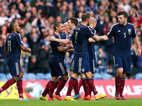 צפו ב-0:1 של סקוטלנד על גיאורגיה