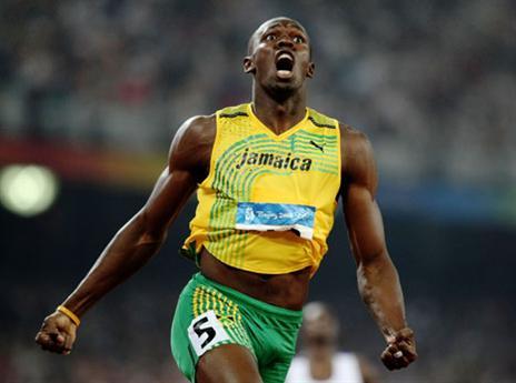 שיא העולם השני בבייג'ין, 19.30 שניות ב-200 מטרים (gettyimages)