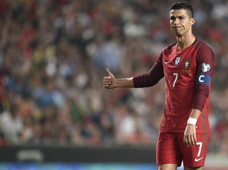 רונאלדו ופורטוגל פותחים מול ספרד החזקה (getty)