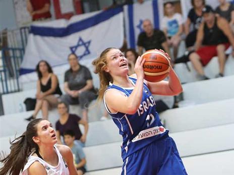 ניצחון שלישי לנבחרת הנערות (באדיבות איגוד הכדורסל)