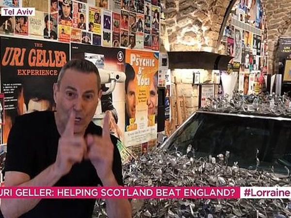 גלר והכפיות. יביאו לסקוטלנד ניצחון? (צילום מסך)