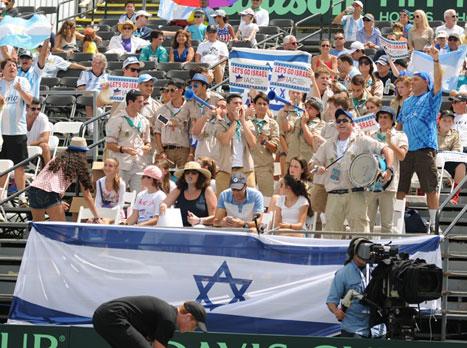 הקהל נתן כוח (איגוד הטניס)