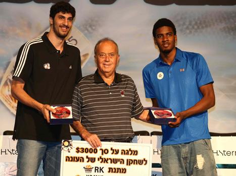 השחקן הצעיר והשחקן הישראלי של העונה. דאוסן ואליהו (אלן שיבר)