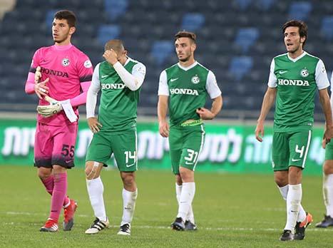 מכבי חיפה, שוב, סיימה עונה בשלב מוקדם (צילום: יוסי שקל)